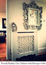 French Style Radiator Cover (Shabby Chic)